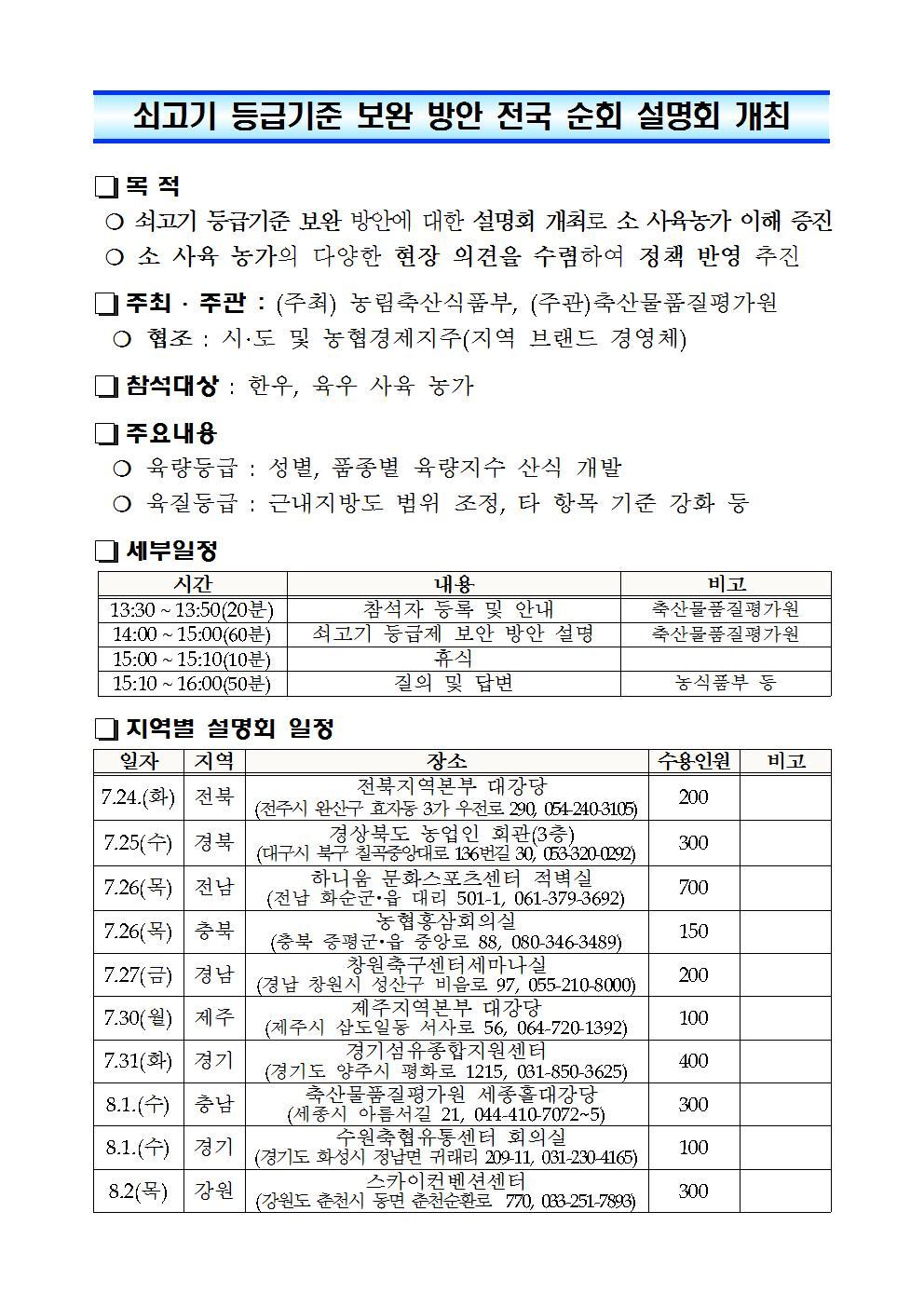 쇠고기 등급기준 보완 방안 전국 순회 설명회 개최001.jpg